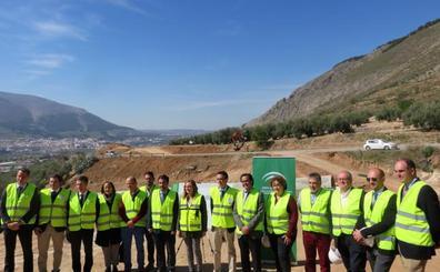 La consejera de Fomento visita la carretera de Ventorros, que mejorará en seguridad tras años de reivindicaciones