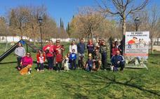 Huétor Tájar estrena el primer parque para perros del municipio