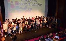 Doce premios y 24 menciones en la I Gala del Deporte Lojeño