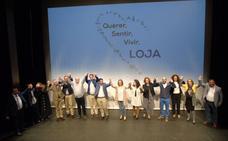 El alcalde lojeño, Joaquín Camacho, presenta su candidatura a la reelección