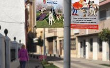 La campaña 'Tu perro, tu responsabilidad' conciencia a los hueteños de que recojan los excrementos de sus mascotas