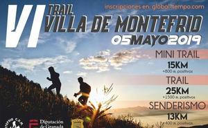 Abierto el plazo para participar en la VI edición del Trail 'Villa de Montefrío'