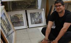 La técnica de pintura rápida de Adrián Marmolejo se lleva el primer premio del Concurso 'Villa de Montefrío'