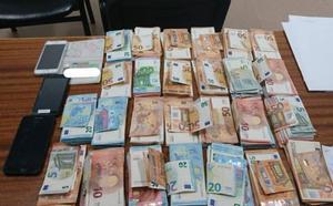 La Policía lojeña interviene más de 25.000 euros de dudosa procedencia durante un control preventivo