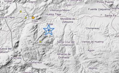 Un terremoto sobresalta de madrugada a los vecinos de Salar y Santa Cruz del Comercio