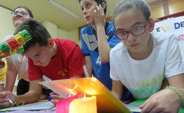 Pionera iniciativa en Loja: el primer 'escape room' en un instituto