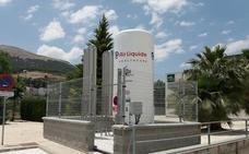 Un nuevo depósito de oxígeno criogénico garantiza el suministro del hospital lojeño