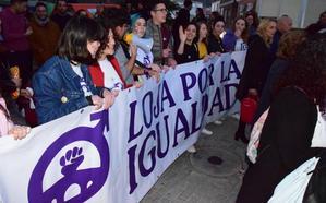 «En Andalucía ya 'no tenemos' violencia de género; ahora es intrafamiliar», lamenta 'Loja por la Igualdad'