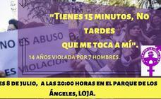 'Loja por la Igualdad' se suma a la oleada de concentraciones en contra de la sentencia de 'la manada de Manresa'