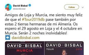 David Bisbal anuncia vía Twitter su concierto de agosto en Loja