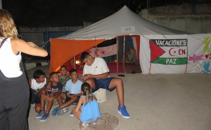 II Fiesta Benéfica para el centro de personas con discapacidad de Auserd, en Tinduf