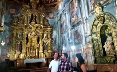 El Ayuntamiento comienza a ofertar visitas a la «capilla sixtina lojeña»