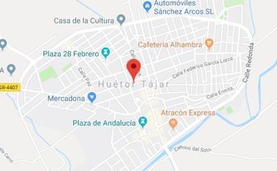 Un niño de 5 años, hospitalizado tras ser atropellado en Huétor Tájar