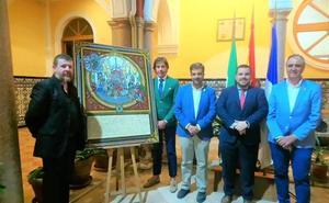 La Patrona de Loja estrena el primer cartel 'exvoto' contemporáneo de Granada