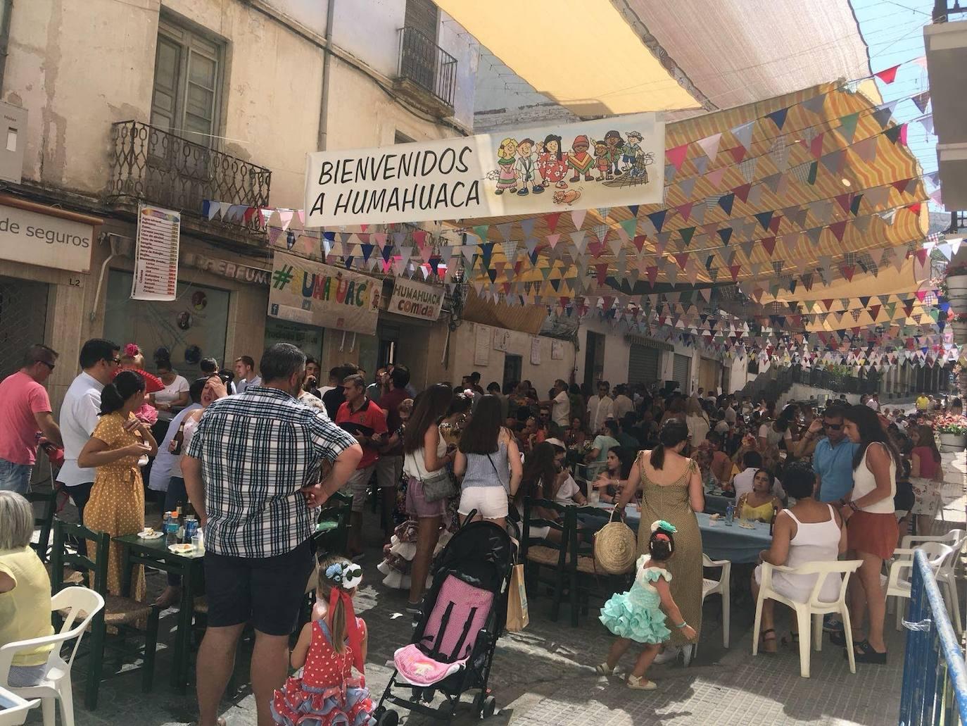 La caseta Humahuaca, preparada para retomar sus proyectos solidarios en la Feria de Loja