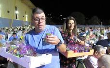 Más de 1.300 mayores lojeños comparten cena un año más en la antesala de la Feria Grande