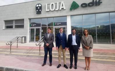 El alcalde de Loja reclama más paradas AVE para los 17 municipios del Poniente