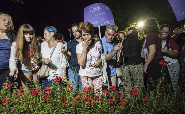 Concentración en Maracena para pedir justicia para Nuria, vecina asesinada a manos de su expareja