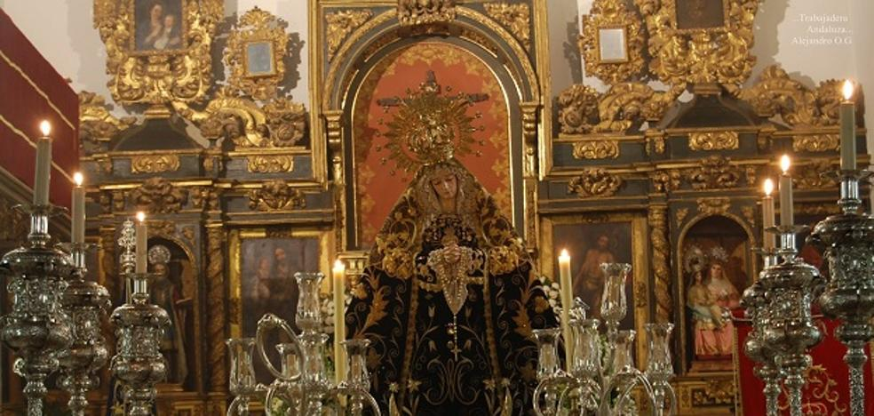 Maracena conmemora el bicentenario de la llegada de la Virgen de los Dolores