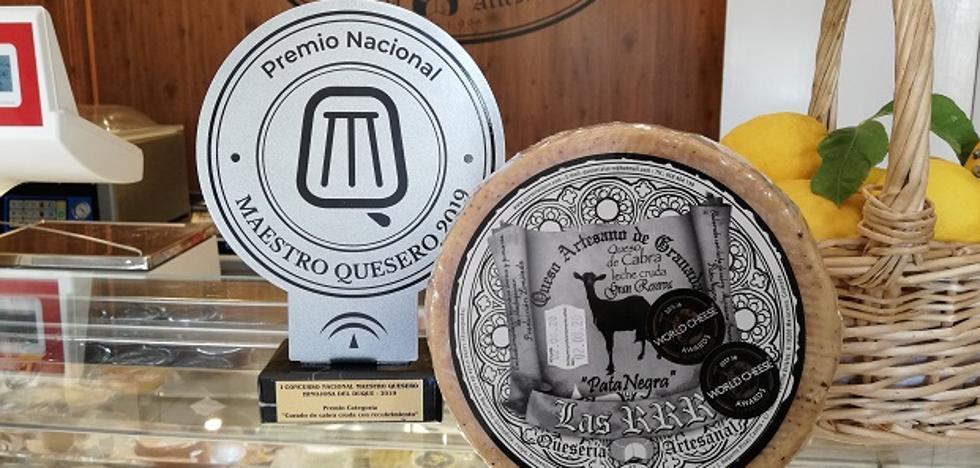 El I Salón del Queso de Andalucía premia a Las RRR