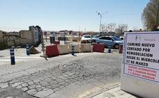 Maracena se reordena por las obras en Camino Nuevo