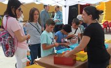 La Plaza Sor María Luisa acogió la Fiesta del Reciclaje