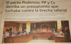 Polémica en Maracena por la portada de su periódico municipal