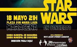La Plaza Sor María Luisa acoge el espectáculo de la banda sonora de Star Wars