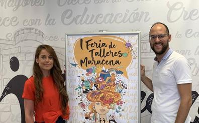 Maracena celebra su primera Feria de talleres de Cultura y Juventud