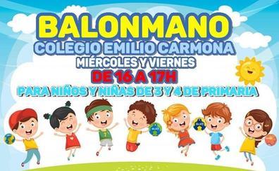La Escuela de Balonmano Maracena comienza su actividad