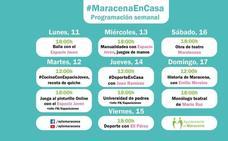 Nueva semana repleta de actividades con #MaracenaEnCasa