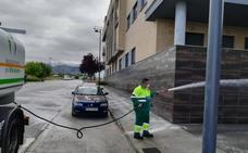 Prosiguen los trabajos de limpieza en las calles de Maracena