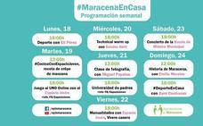 #MaracenaEnCasa: formación, música, historia y deporte para cerrar la semana