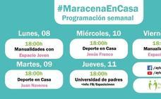 Manualidades y deporte, protagonistas de una nueva semana de #MaracenaEnCasa