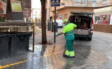 Los contenedores de basura de Maracena, más limpios que nunca