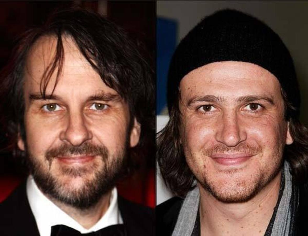 Peter Jackson y Jason Segel