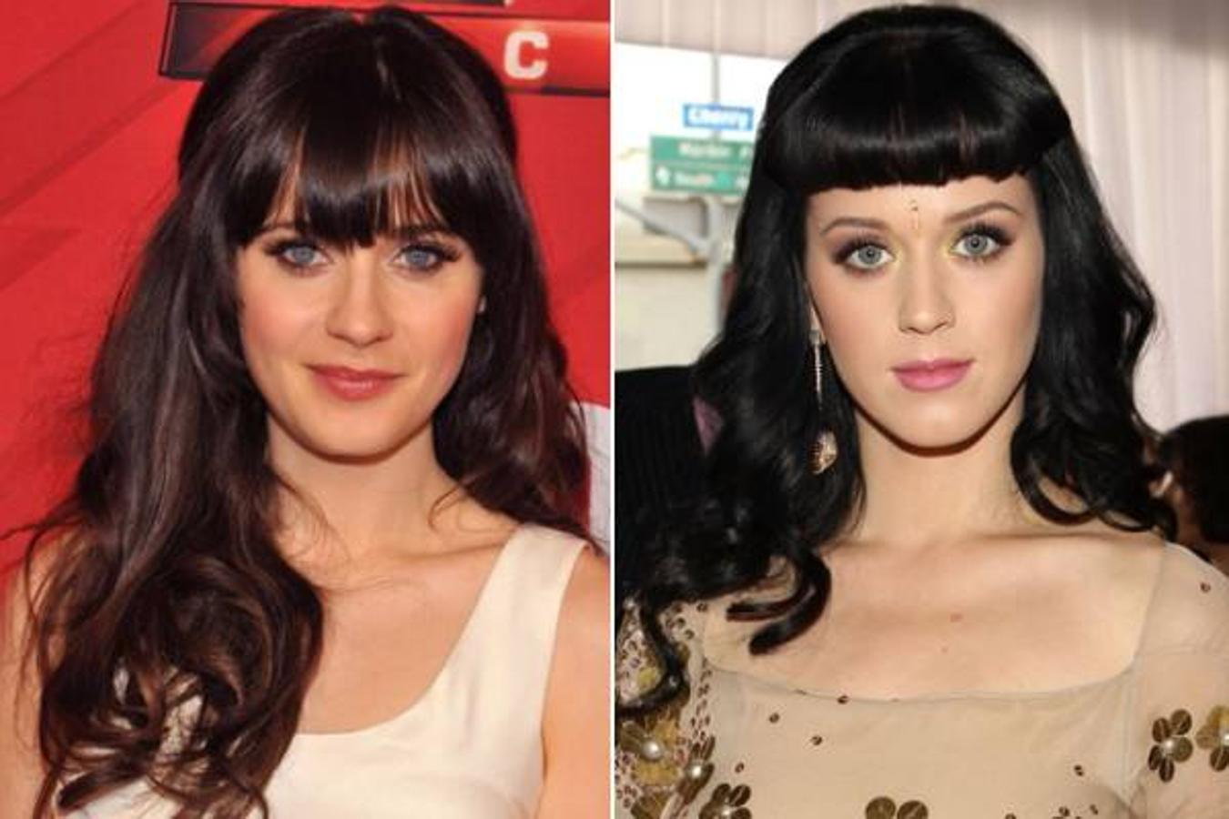 Zooey Deschanel y Katy Perry