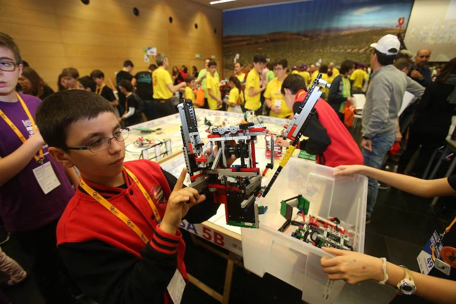 La First Lego League desata un terremoto creativo