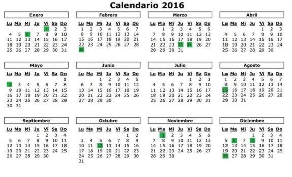Consulta el calendario de fiestas laborales en andaluc a for Calendario eventos madrid