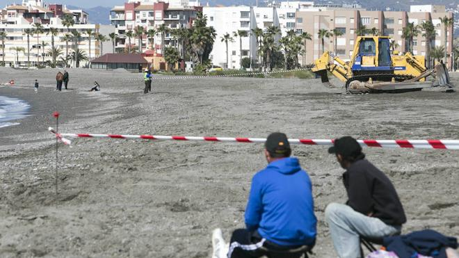 Plan de emergencia para recuperar ocho playas de la Costa Tropical