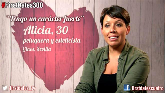 Una sevillana conquista en 'First Dates'
