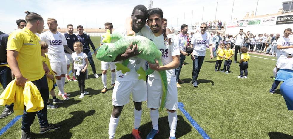 El Real Jaén certifica el play off como tercero en Huétor Vega