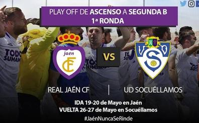 El Socuéllamos, rival del Real Jaén en el play off de ascenso a Segunda B