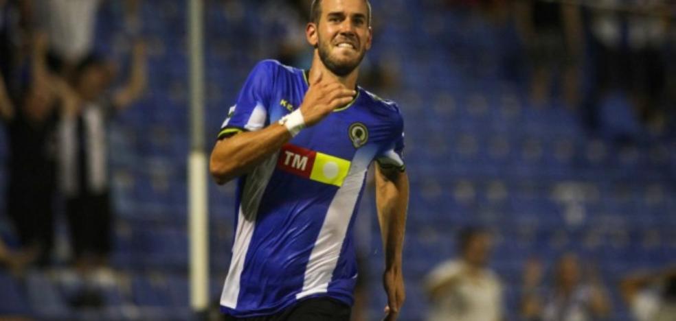 El delantero ubetense del Hércules, Carlos Fernández, en la órbita del Real Jaén