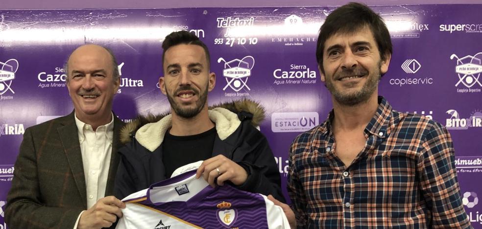 Álvaro Ocaña: «Tenía decidido desde hace meses que aceptaría una oferta del Real Jaén