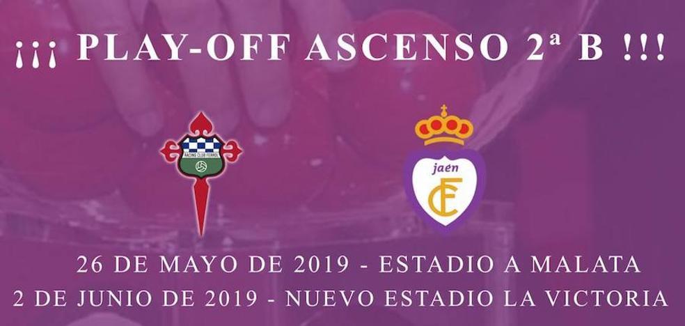 El Racing de Ferrol, rival del Real Jaén por el ascenso