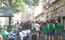 Más de 300 ferrolanos ocupan el centro de Jaén