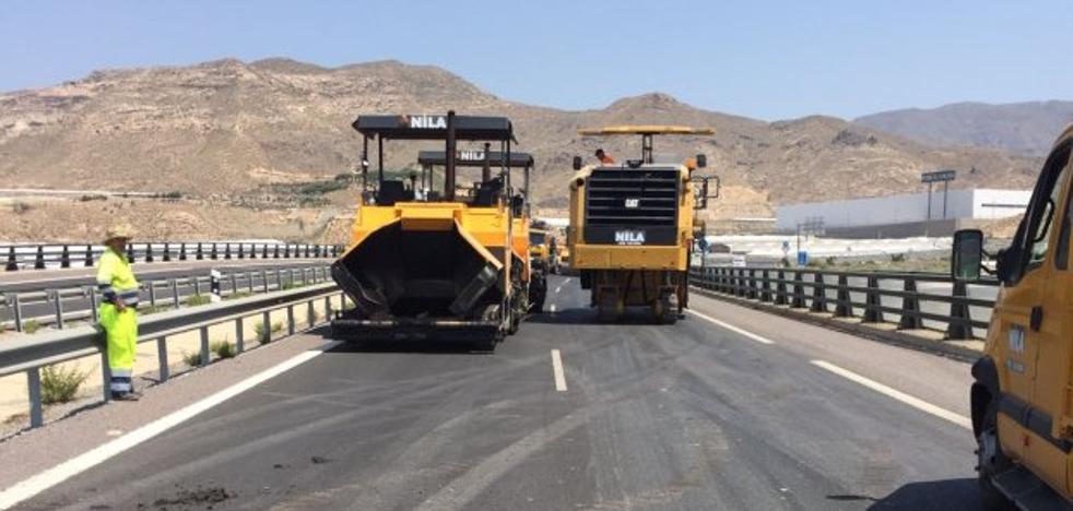 La variante hasta la carretera de La Mojonera se abrirá en julio