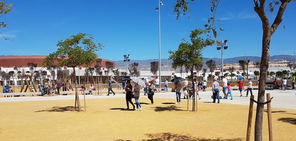 Ciudadanos se suma a las críticas por la falta de sombras en el Parque de Los Bajos