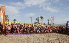 Éxito de participación en el II Triatlón Cross Ciudad de Roquetas